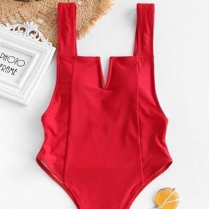 💋SEXY RED ONE PIECE💋